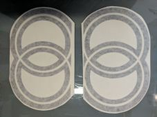 Gilera Rings (air Vent size) stickers/Decals